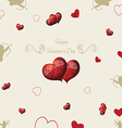 vintage elements Valentines Day vector image vector image