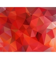 Abstract polygonal triangular background vector image