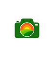 camera farm logo icon design vector image