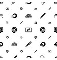 diagnostic icons pattern seamless white background vector image vector image