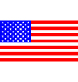 Flag of the United States vector image vector image