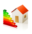 House and energy classification vector | Price: 1 Credit (USD $1)