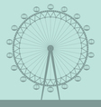 london eye vector image vector image
