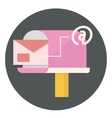 mail and communication icon vector image vector image