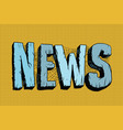 news in the mesh of spider webs vector image vector image