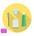 Oral care icon vector image vector image