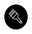 Paintbrush icon vector image