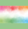 rainbow watercolor splash background with copy vector image