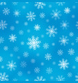 seamless background snowflakes 1 vector image