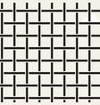 seamless woven stripes lattice pattern modern vector image vector image