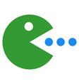 talking smiley icon vector image