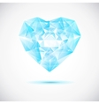 Beautiful crystal vector image