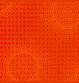 halftone color pop art background vector image