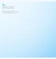 abstract modern design of blue gradient blur vector image vector image