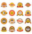 beer festival oktoberfest celebrations set of vector image vector image