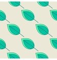 Green leaves nature seamless pattern vector image vector image