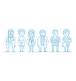 group doctors our medical staff vector image vector image