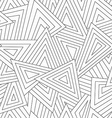 monochrome scattered triangle seamless texture vector image vector image