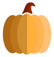 pumpkin icon flat isolated vector image