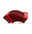 russian and french accordion national musical vector image
