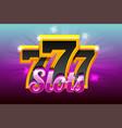 slots 777 banner casino