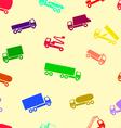 car wallpaper seamless vector image