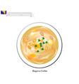 begova corba or traditional bosnia bey soup vector image vector image