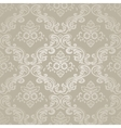 Damask Vintage Floral Seamless Pattern Background vector image