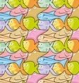 fish puzzle vector image vector image