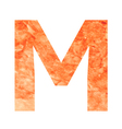 m land letter vector image vector image