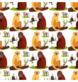 monkey character animal breads seamless pattern vector image vector image