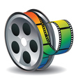 Movie Reel Icon2 vector image