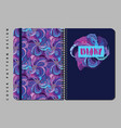 notebook and diary cover design for print with