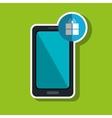 smartphone services design vector image