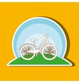 sport cycling design vector image vector image