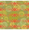 Floral Background Pattern vector image