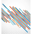 Abstract straight lines background vector image vector image