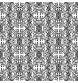 black vintage pattern vector image vector image
