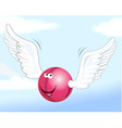 cartoon ball vector image vector image