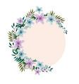 flower garland watercolor