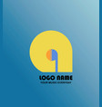 music logo vector image