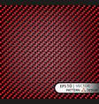 Pattern seamless carbon fiber red under vector image