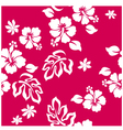 Seamless hibiscus vector | Price: 1 Credit (USD $1)