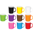 Set of mugs vector | Price: 1 Credit (USD $1)