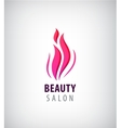 Spa and Beauty nature symbol concept vector image vector image