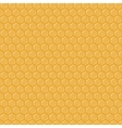 Seamless geometric pattern with honeycombs vector image