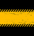 abstract grunge style yellow and black empty
