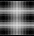black and white square checkered background vector image