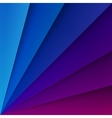 Blue and purple paper layers with realistic vector image vector image