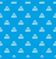 drop water energy pattern seamless blue vector image vector image